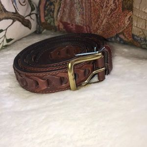 Man's Leather Belt